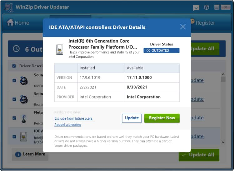 Driver Updater by WinZip